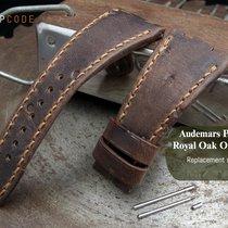 MiLTAT AP Royal Oak Offshore Leather Band, Chesse Holes