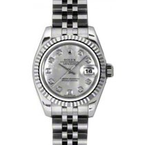 Rolex Lady-Datejust 26 179174-MOPDJ White Mother of Pearl...