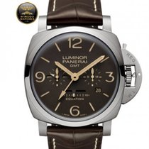 Panerai - LUMINOR 1950 EQUATION OF TIME 8 DAYS GMT TITANIO -
