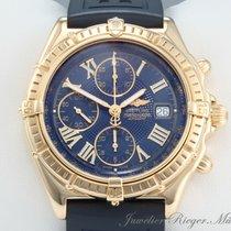 Breitling WINDRIDER CROSSWIND K13055 GOLD 750 CHRONOGRAPH...