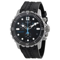 Tissot Seastar 1000 Chronograph Black Dial Mens Watch T0664171...