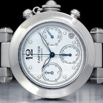 Cartier Pasha C Chrono  Watch  W31039M7 / 2412
