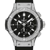 Hublot Big Bang 301.SX.1170.RX.1704 Black Index Diamond Set...