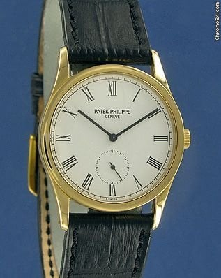 Patek Philippe Calatrava Yellow Gold--on hold--