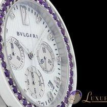 Bulgari Bvlgari Diagono Chrono Diamonds mit Amethyst /...