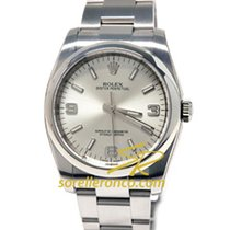 Rolex Oyster Perpetual Silver Dial