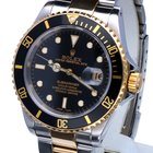 Ρολεξ (Rolex) Oyster Submariner Gold Steel Black Dial 40 mm...