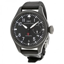 IWC Big Pilot Top Gun Black Dial Automatic Power Reserve