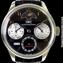IWC Portuguese Perpetual Calendar Steel Cellini Limited...
