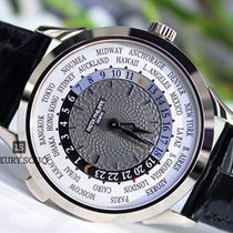 Patek Philippe world time leather