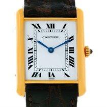 Cartier Tank Classic Paris 18k Yellow Gold Quartz Watch