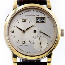 A. Lange & Söhne Lange 1 in Gelbgold 18kt, Panorama-Datum,...