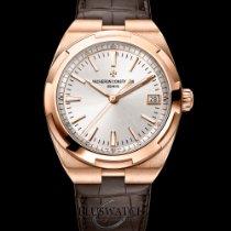 Vacheron Constantin Overseas Rose Gold 18K 41mm Silver Dial T