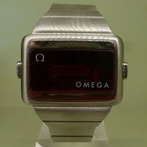 Omega vintage TIME COMPUTER 2 steel RARE 1975 led date-month
