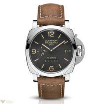 Panerai Luminor 1950 GMT Stainless Steel Men's Watch