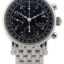 Chronoswiss Lunar Chronograph Black Arabic Dial Automatic CH7523