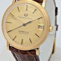 Tiffany Mens 18k Yellow Gold Universal Geneve Tiffany & Co...