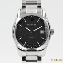 Longines Conquest Classic Black Dial Full Set - Like New -