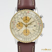 Breitling Old Navitimer Chronograph Steel Gold Automatic 81610
