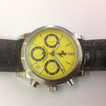 Girard Perregaux Ferrari chronograph and steel ref.8020