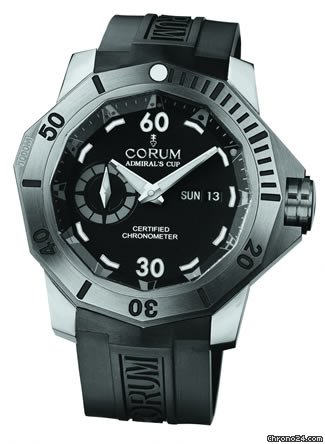 Corum ADMIRAL CUP DEEP HULL 48 - 100 % NEW