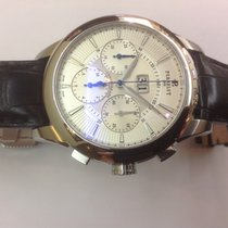 Perrelet Chronograph Big date in stainless steel ref.A108/8