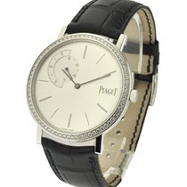 Piaget G0A35118 Altiplano Mens Size with Diamond Bezel - White...