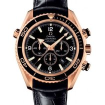 Omega Planet Ocean Rose Gold Chrono