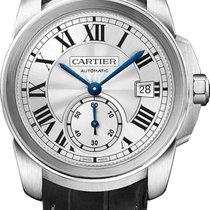 Cartier Calibre 38mm Silver Dial WSCA0003