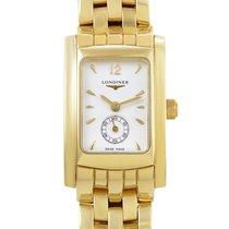 Longines DolceVita Ladies 18K Yellow Gold Quartz Watch...