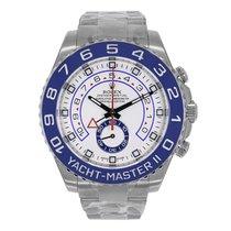 Rolex YACHT-MASTER II 44mm Stainless Steel Watch 2016