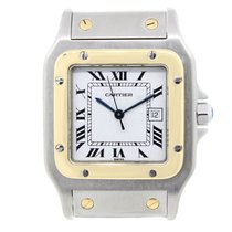 Cartier Santos 1567 Two-Tone  Dial Watch
