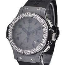 Hublot Tantalum Mat Big Bang 2 Row Diamond Bezel