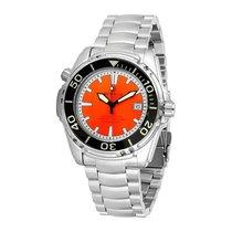 Deep Blue Sea Quest Orange Dial Automatic Men's Watch