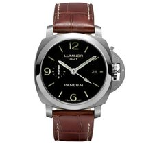 Panerai Luminor 1950 3 Days GMT Automatic Acciaio Automatic...