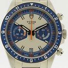 Tudor Heritage Chrono Blue 70330B ungetragen