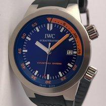 IWC Aquatimer Cousteau Divers Blue Dial Limited Edition