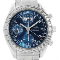 Omega Speedmaster Day-date Blue Dial Watch 3523.80.00 Papers