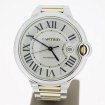 Cartier Ballon Bleu Steel/Gold 42mm Automatic WhiteRoman...