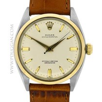 Rolex stainless steel and 18k yellow gold vintage Gent's...