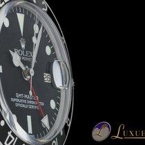 Rolex GMT-Master Edelstahl/Schwarz Plexiglas   Rolex Service 2017