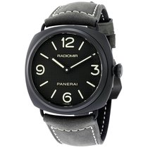 Panerai Radiomir Ceramica Black Dial Matte Ceramic Mens Watch...