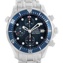 Omega Seamaster Bond Chronograph Mens Watch 2599.80.00 Box Papers