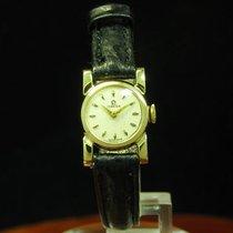 Omega 18kt 750 Gold Handaufzug Damenuhr Von Ca. 1958 / Kaliber...