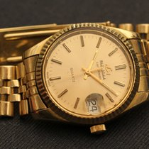 Philip Watch caribbean quartz 33 mm solid yellow gold 85 gr....
