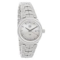TAG Heuer Link Diamond Ladies MOP Swiss Quartz Watch WBC1316.B...