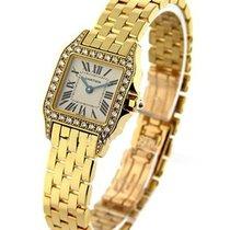 Cartier WF9002Y7 Santos Demoiselle - Mid Size - Diamond Case -...