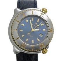 Maurice Lacroix Diver Obliquo Blue Dial Watch 42mm NOS