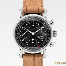 Chronoswiss Chronograph Lunar Moonphase CH7523 Full Set