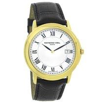 Raymond Weil Tradition Mens Gold Swiss Quartz Watch 54661-PC-0...